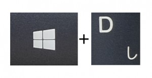 Windows+D