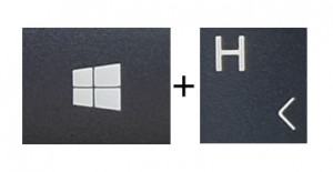 Windows+H