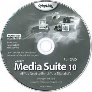 Media Suite 10 forDVD