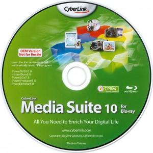 89015 CyberLink Media Suite BD(Pioneer)